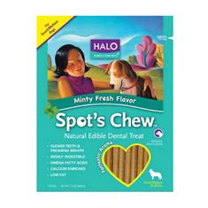 Halo Spots Chew Mint Flavor Dental Treat
