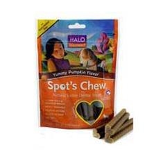 Halo Spots Chew Pumpkin Flavor Dental Treat