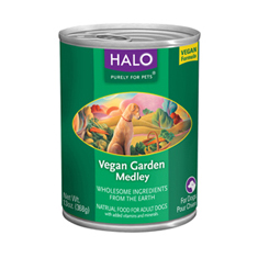 Halo Vegan Garden Medley Cans for Dogs