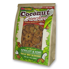 K9 Granola Factory Coconut Crunchers Apricot and Kiwi