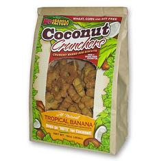 K9 Granola Factory Coconut Crunchers Tropical Banana