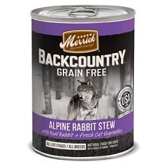 Merrick Backcountry Grain Free Alpine Rabbit Stew