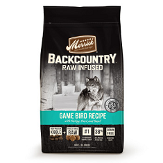 Merrick Backcountry Grain Free Raw Infused Game Bird Adult