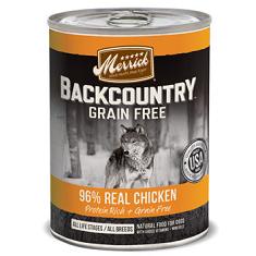 Merrick Backcountry Grain Free Real Chicken