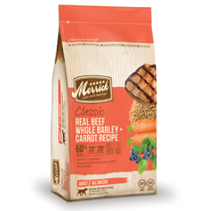 Merrick Classic Beef Barley and Carrot Adult Formula