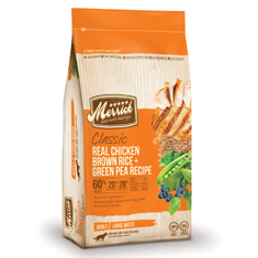 Merrick Classic Chicken Brown Rice and Green Pea Large Breed Adult Formula