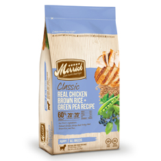 Merrick Classic Chicken Brown Rice and Green Pea Puppy Formula