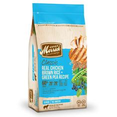 Merrick Classic Chicken Brown Rice and Green Pea Senior Formula