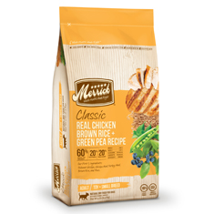 Merrick Classic Chicken Brown Rice and Green Pea Small Breed Formula