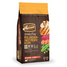 Merrick Grain Free Real Chicken and Sweet Potato Dry Recipe