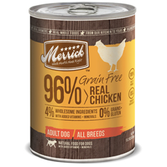Merrick Grain Free Real Chicken Cans