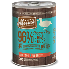 Merrick Grain Free Real Duck Cans