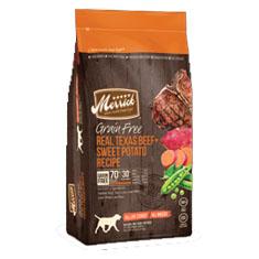 Merrick Grain Free Real Texas Beef and Sweet Potato Dry Recipe