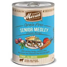 Merrick Grain Free Senior Medley