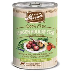 Merrick Grain Free Venison Holiday Stew