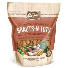 Merrick Kitchen Bites Brauts n Tots Biscuits