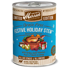 Merrick Seasonal Grain Free Festive Holiday Stew