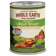 Merrick Whole Earth Farms Grain Free Adult Recipe