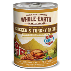 Merrick Whole Earth Farms Grain Free Chicken and Turkey Recipe