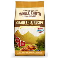 Merrick Whole Earth Farms Grain Free Chicken and Turkey