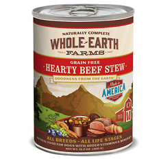 Merrick Whole Earth Farms Grain Free Hearty Beef Stew
