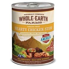 Merrick Whole Earth Farms Grain Free Hearty Chicken Stew