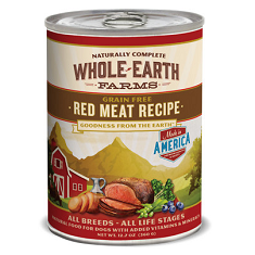 Merrick Whole Earth Farms Grain Free Red Meat Recipe
