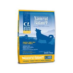 Natural Balance Alpha Dog Chicken Duck and Turkey Formula