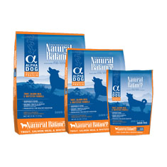 Natural Balance Alpha Dog Trout Salmon and Whitefish Formula