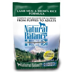 Natural Balance Lamb Meal and Brown Rice