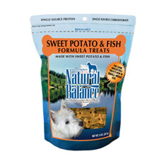 Natural Balance Limited Ingredient Fish Sweet Potato Small Breed Treats