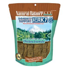 Natural Balance Limited Ingredient Immunity Support Jerky Chicken