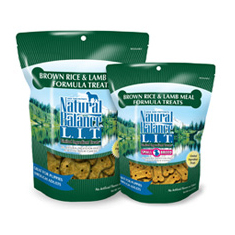 Natural Balance LIT Brown Rice and Lamb Meal Treats