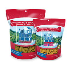 Natural Balance LIT Sweet Potato and Bison Meal Treats