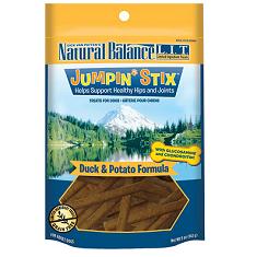 Natural Balance LIT Treats Jumpin Stix Duck and Potato