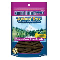 Natural Balance LIT Treats Jumpin Stix Venison and Sweet Potato