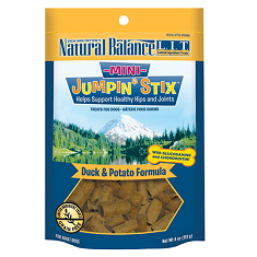 Natural Balance LIT Treats Mini Jumpin Stix Duck and Potato