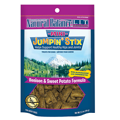 Natural Balance LIT Treats Mini Jumpin Stix Venison and Sweet Potato