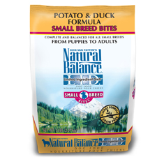 Natural Balance Small Breed Bites Duck and Potato Formula