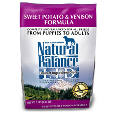 Natural Balance Sweet Potato and Venison