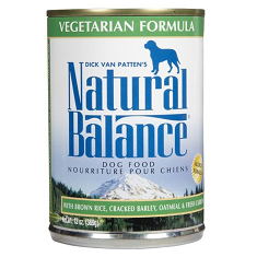 Natural Balance Vegetarian Dog Food Cans