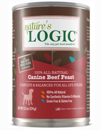 Natures Logic Natural Beef Can