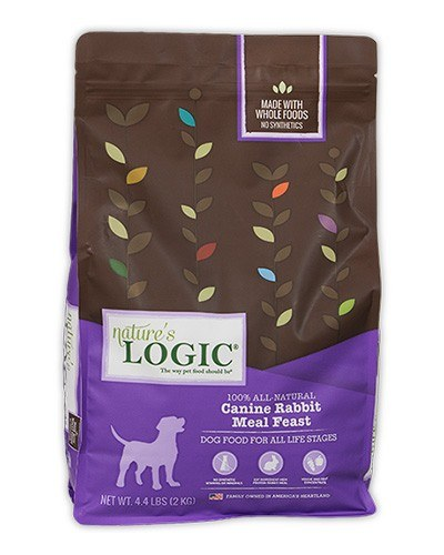 Natures Logic Natural Rabbit Dry Dog Food