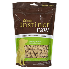 Natures Variety Instinct Freeze Dried Raw Lamb Dog Food