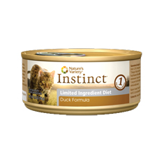 Natures Variety Instinct LID Duck Canned Cat Food