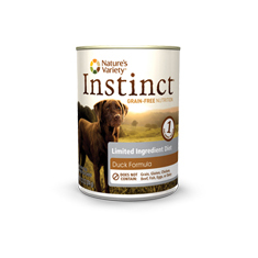 Natures Variety Instinct LID Duck Canned Dog Food