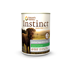 Natures Variety Instinct LID Lamb Canned Dog Food