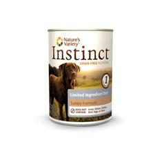 Natures Variety Instinct LID Turkey Canned Dog Food