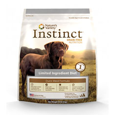 Natures Variety Instinct Limited Ingredient Duck Formula
