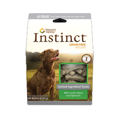 Natures Variety Instinct Limited Ingredient Lamb Biscuits
